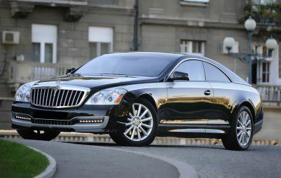 Австрийское кузовное ателье будет выпускать купе Maybach под заказ