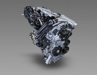 Мотор, получивший индекс 8NR-FTS, развивает 116 л.с. мощности и 185 Нм тяги (в диапазоне от 1500 до 4000 об/мин.)