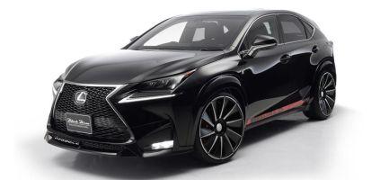 Тюнинг-ателье Wald подготовило аэродинамический обвес для Lexus NX