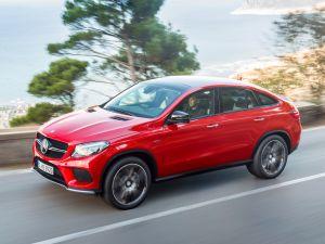 Новый Мерседес GLE Coupe оказался дороже BMW X6