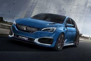 Концептуальный гибрид Peugeot 308 R: 500 л.с. и четыре секунды до «сотни»