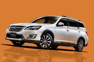 Универсал Subaru Exiga переделали в кроссовер