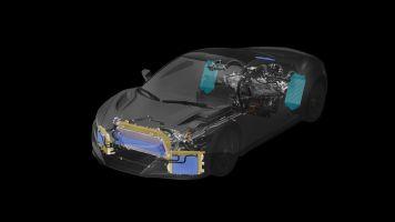 Для охлаждения силовой передачи Acura NSX используется 10 радиаторов