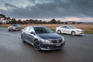 Toyota представила обновленный седан Aurion для австралийского рынка
