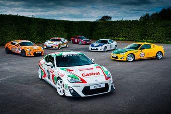 Цветовые схемы на каждой из шести машины выполнены специалистами по обклейке винилом из фирмы Motor Mode. Окраска всех машин была адаптирована под габариты GT86, поскольку все схемы взяты с гоночных машин с отличающимися пропорциями.