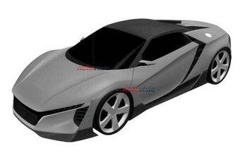 Автомобильные СМИ предполагают, что концепт-кар может быть предвестником новой модификации NSX или родстером, который придет на смену S2000 в модельном ряду Хонды — черная центральная секция крыши машины на фото может быть съемной.