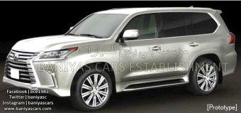 Ожидается, что обновленный Lexus LX покажут в предстоящем августе одновременно с усовершенствованной версией Toyota Land Cruiser 200.