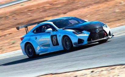 Lexus подготовил купе RC F для подъема на гору Пайкс Пик