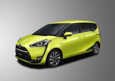 Новое поколение минивэна Toyota Sienta представлено в Японии