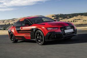 Компания Audi представила обновленный вариант концепта-беспилотника на базе RS7
