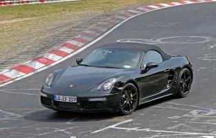 Обновленные версии Porsche Boxster и Cayman получат четырехцилиндровые моторы мощностью до 370 л.с.