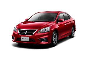 У японской версии Nissan Sentra появилась спортивная комплектация