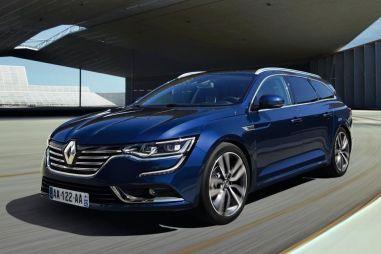 Компания Renault показала универсал Talisman Estate