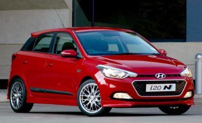 Hyundai подготовил спортивную комплектацию для хэтчбека i20