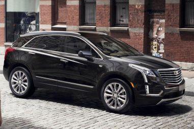 Cadillac показал новые изображения кроссовера XT5