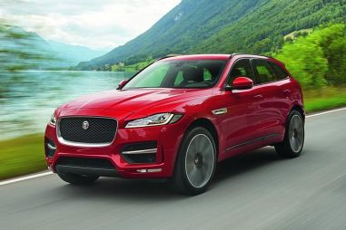 Jaguar показал свой первый серийный кроссовер F-Pace