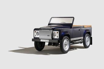 Как уверяют представители Land Rover, новый автомобиль понравится как заядлым коллекционерам, так и детям обеспеченных родителей.
