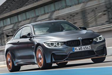 BMW привезет в Токио самую мощную версию купе M4