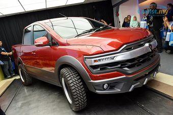 Сейчас в модельном ряду марки Proton нет автомобиля с таким типом кузова, поэтому прототип вполне может пойти в серию.