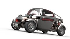 Все три автомобиля — концепт-кары, показывающие технологический уровень Toyota.