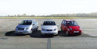 В модельном ряду — хэтчбек Matiz и седан Gentra. В будущем году появятся новая Нексия и еще две модели.