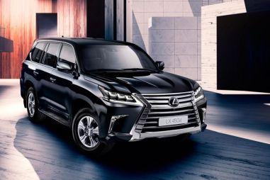 Обновленный Lexus LX получил дизельный мотор для российского рынка