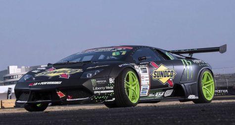Дайго Сайто заполучил первый в мире дрифт-корч на базе Lamborghini