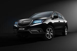 Обновленный Acura MDX получил девятиступенчатый «автомат» и кнопки вместо рычага АКП