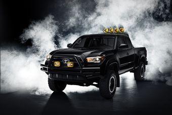 Автомобиль построен на базе нынешнего поколения модели Tacoma.