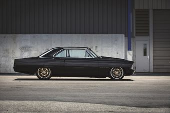 Купе Chevrolet Nova 1967 года оснастили 272-сильным двухлитровым турбодвигателем. Изначально автомобиль был оборудован менее мощным 4,6-литровым атмосферным V8, развивавшим 220 л.с.