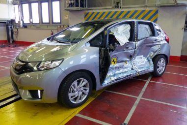 Безопасность Honda Jazz и HR-V проверили в европейских краш-тестах