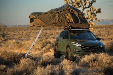 Hyundai на шоу SEMA: Tucson на все случаи жизни и Veloster с 1,6-литровым 500-сильным мотором