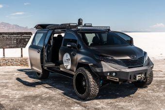 Главная цель постройки UUV — участие в экспедиции компании Toyota, в рамках которой сотрудники фирмы проедут на выпускаемых фирмой машинах более 25 тысяч километров по Северной Америке.
