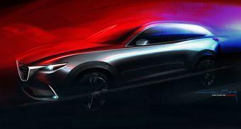 CX-9 продемонстрирует дальнейшее развитие дизайнерской концепции Kodo, которая распространяется на все модели японского бренда.