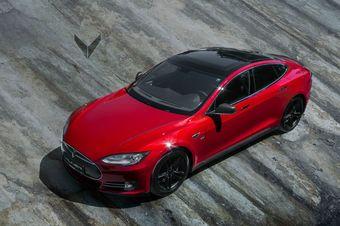 По мнению специалистов ателье Vilner, доработки сделали дизайн электромобиля более гармоничным.