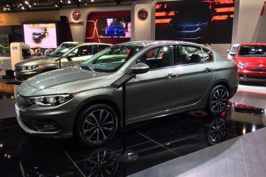 В Дубае показали новый седан Fiat Tipo — бренд возвращается в C-сегмент