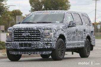 Как и прежде, внедорожник будет сохранять техническое и стилистическое родство с пикапом Ford F-150.
