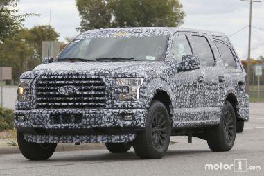 Ford готовит новое поколение полноразмерного внедорожника Expedition