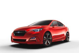 По своему дизайну автомобиль напоминает показанный ранее прототип Impreza 5-Door Concept.