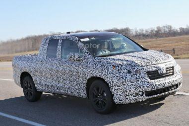 Новое поколение пикапа Honda Ridgeline лишится характерного угловатого кузова