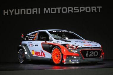 Новый раллийный болид от Hyundai: 300 сил с 1,6-литрового мотора