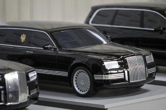 На фото изображен один из ранних прототипов президентского лимузина — финальная машина вряд ли будет выглядеть так же.