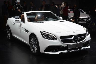 Обновленный компактный родстер от Mercedes-Benz получил имя SLC