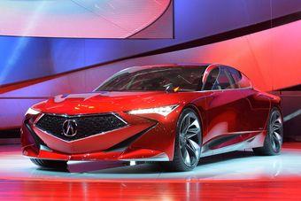 Не исключено, что Acura Precision Concept вдохновит дизайнеров марки на создание нового флагманского седана.