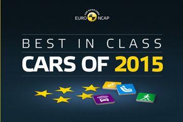 В Европе выбрали самые безопасные новые автомобили 2015 года