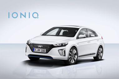 Hyundai официально представил новый гибрид Ioniq