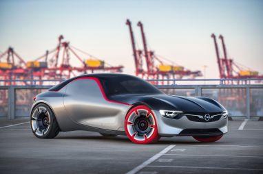 Opel представил концептуальное купе GT с литровым турбомотором