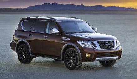 Nissan будет продавать Patrol в США под именем Armada