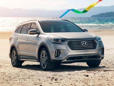 Hyundai обновил американский вариант Santa Fe