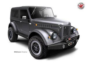 «Новый» ГАЗ-69: кроме американских V8 будет дизель от Тойоты